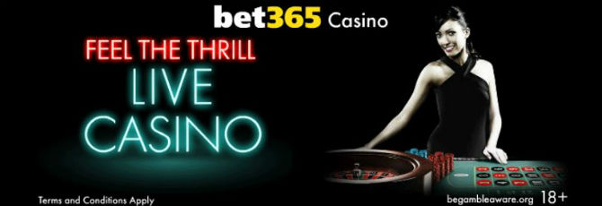 bet365 Casino Angebot